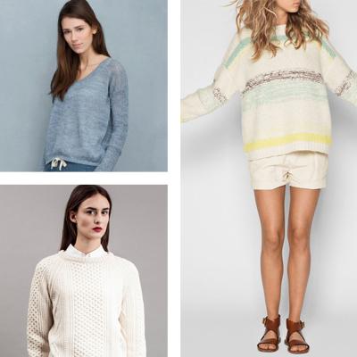 Bæredygtigt tøj: Blød uld og strik