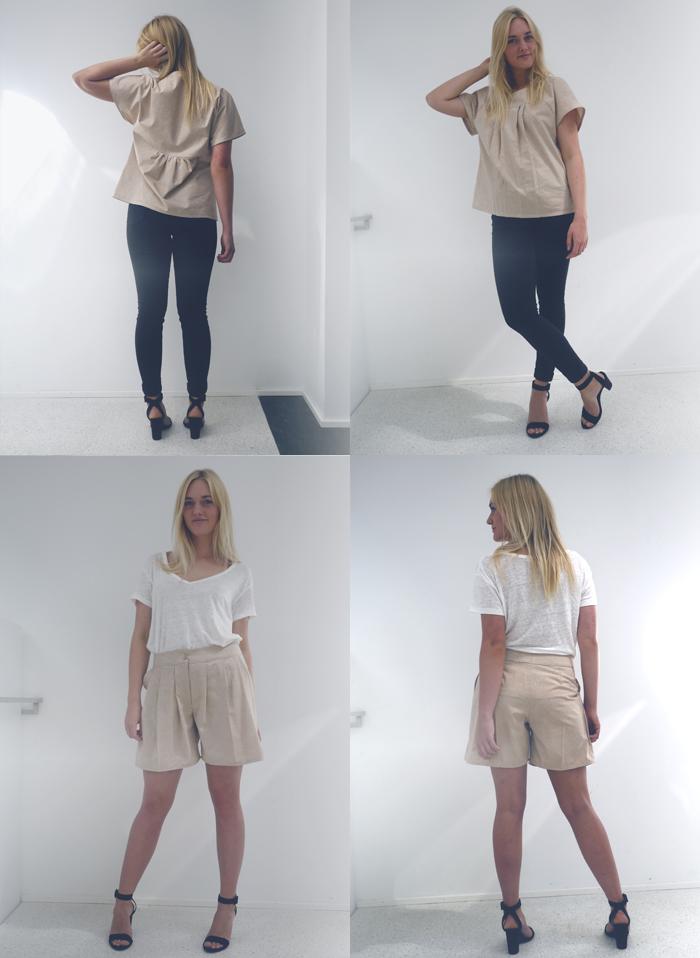 15.06.13 bluse og shorts