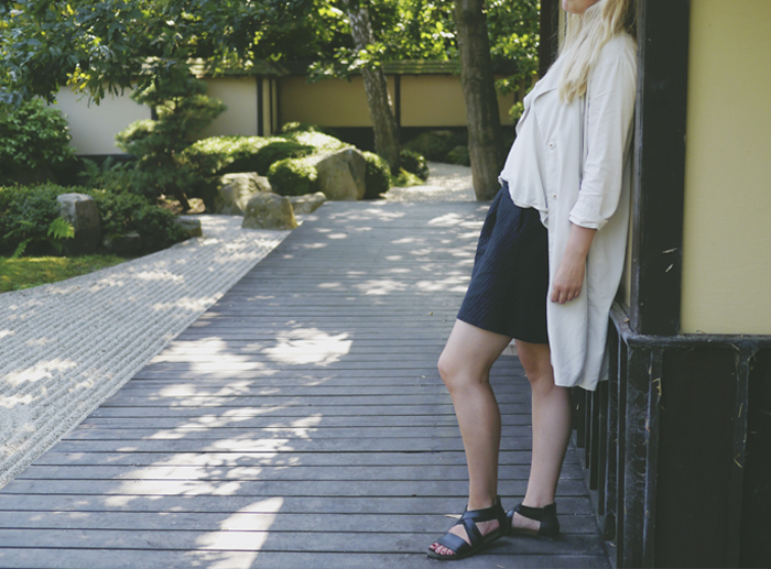 Tencel trenchcoat summer outfit 2 bedremodenu