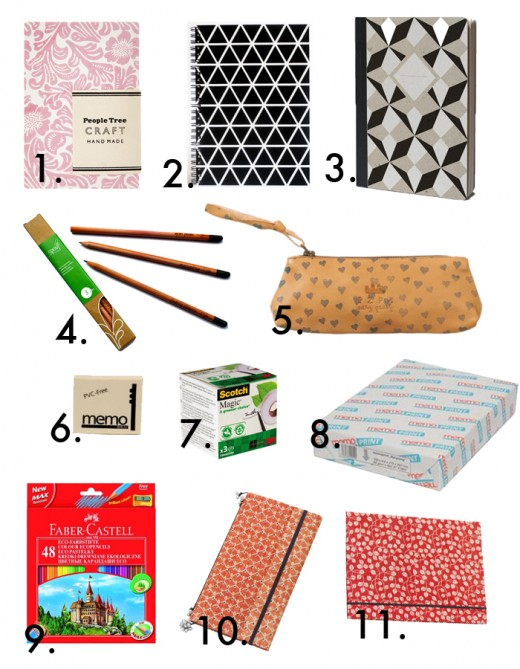 ecofriendly school supplies