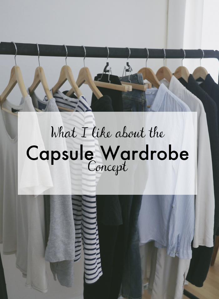 what I like about the capsule wardrobe