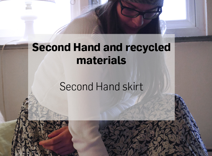 second hand and recycled materials