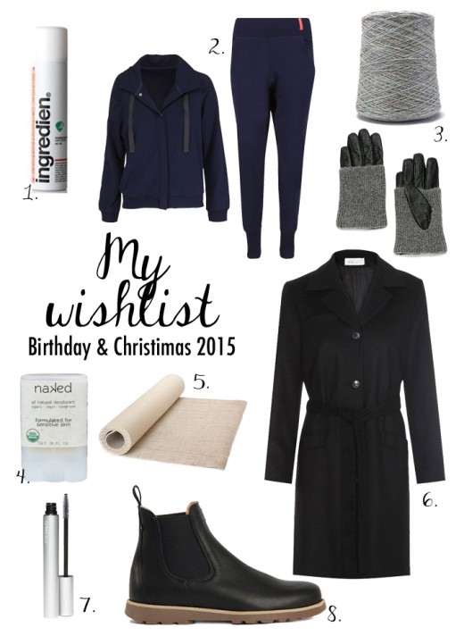 my wishlist christmas 2015