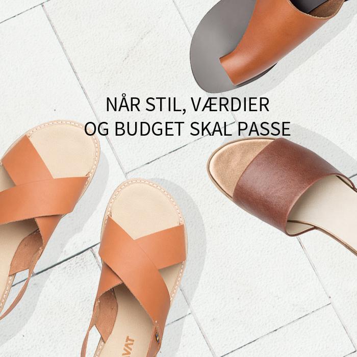 Stil budget og værdier sandaler 5