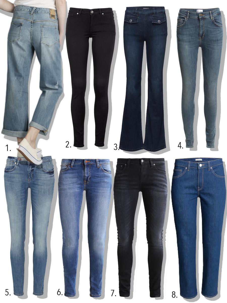 8 bedre jeans