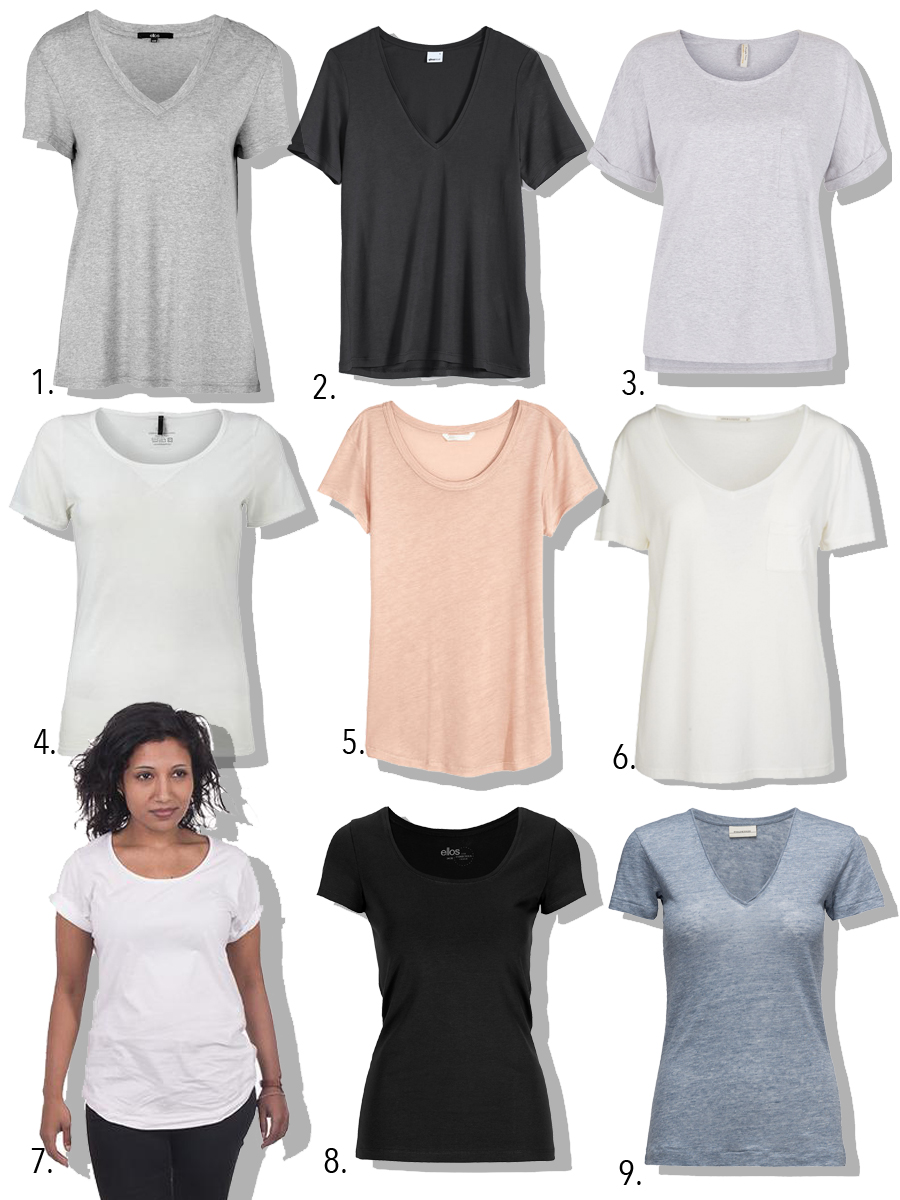 9 bedre t-shirts