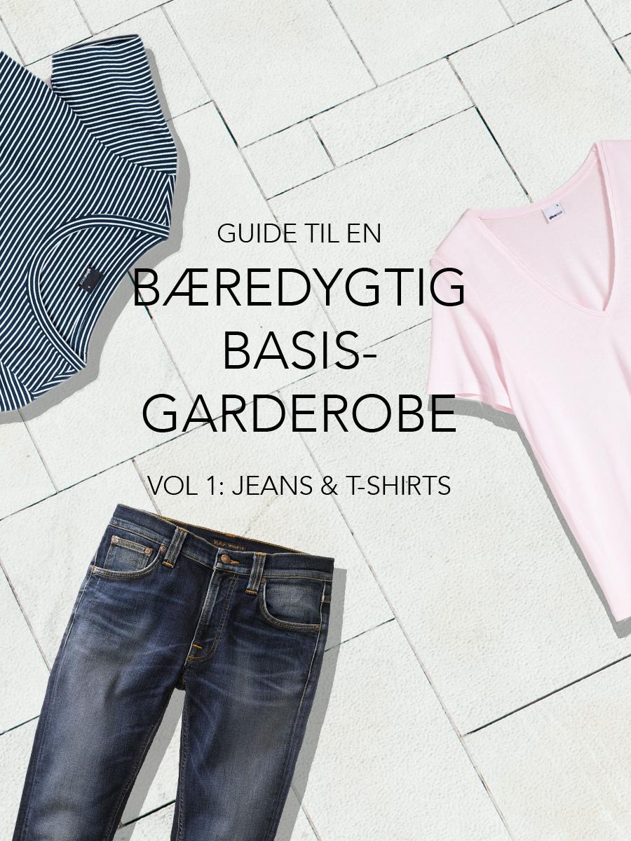 bæredygtig basis garderobe_tshirs og jeans