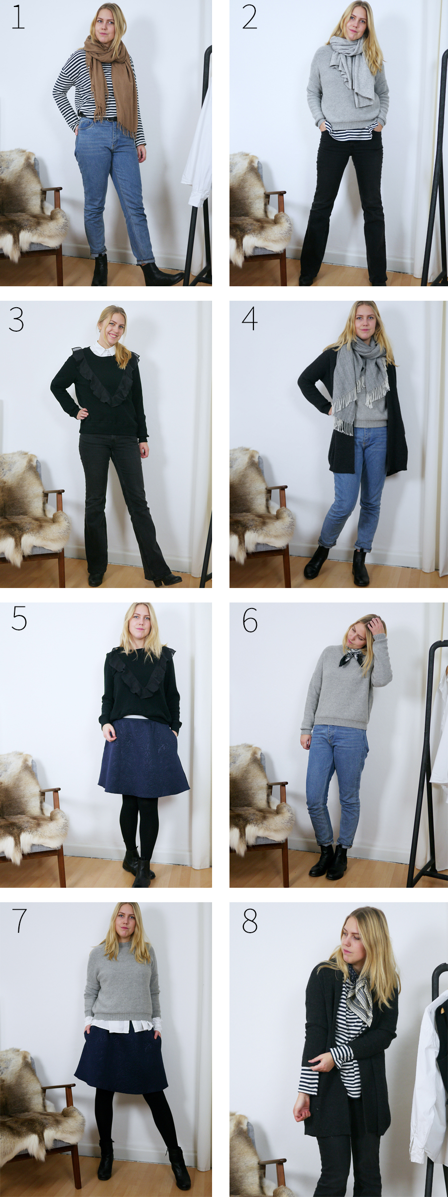 bedremode winter10x10 alle outfits