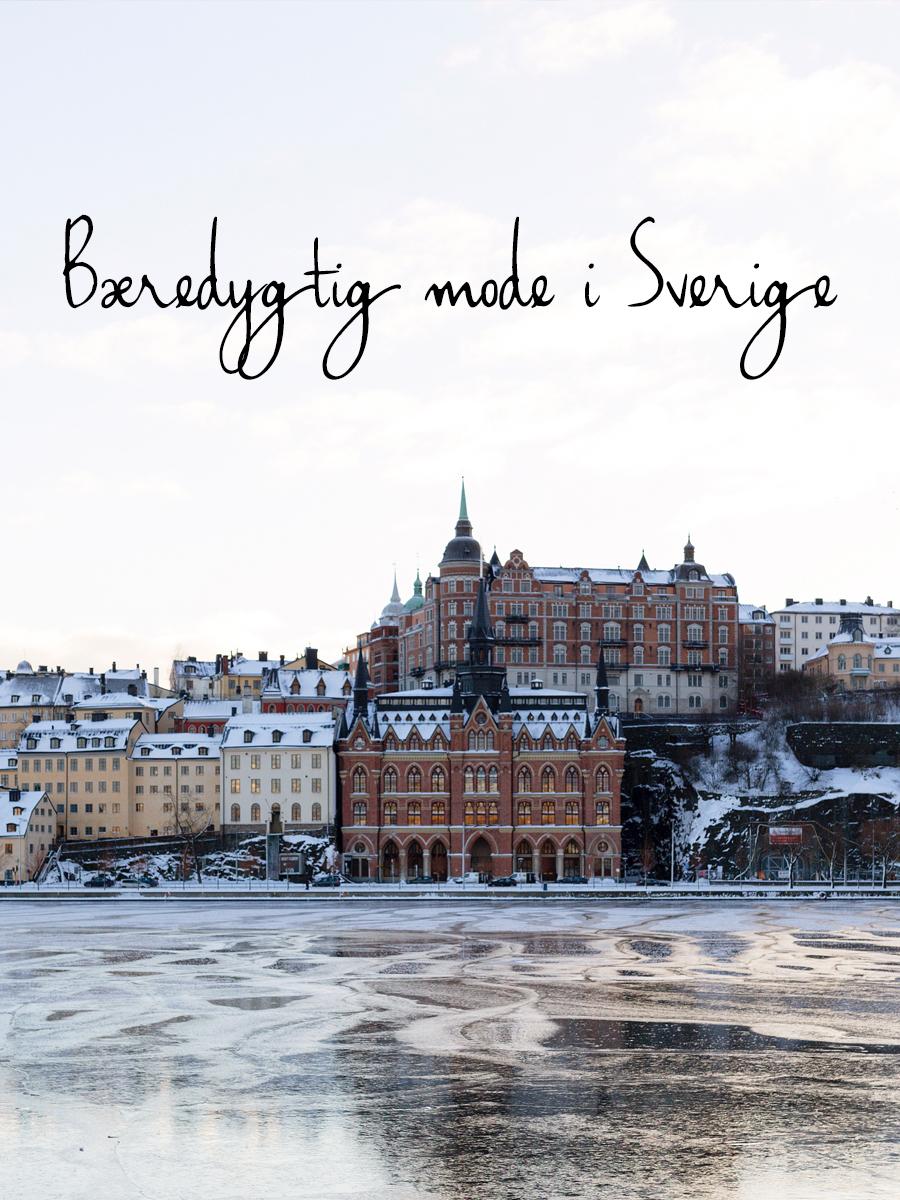 Bæredygtig mode i Sverige