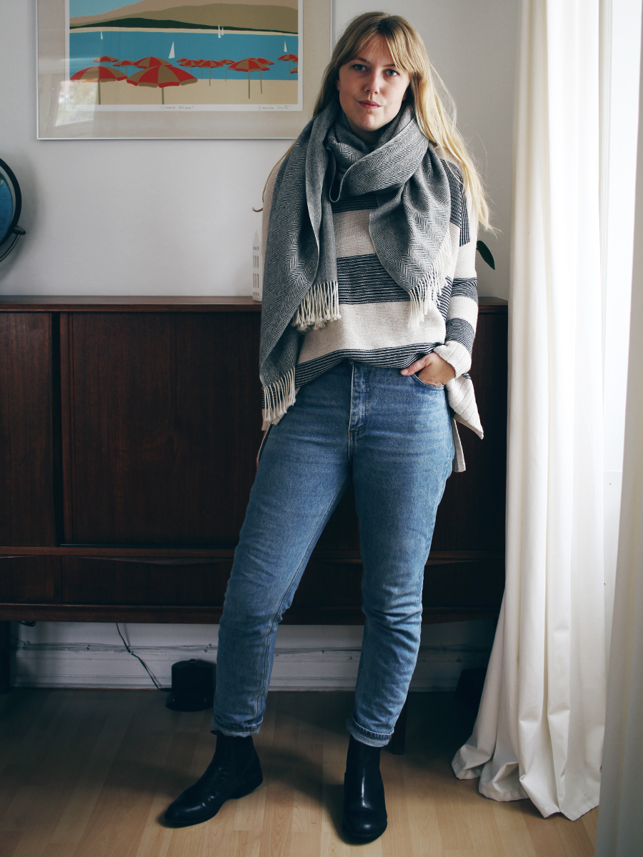 3 måder at style stribet sweater 2