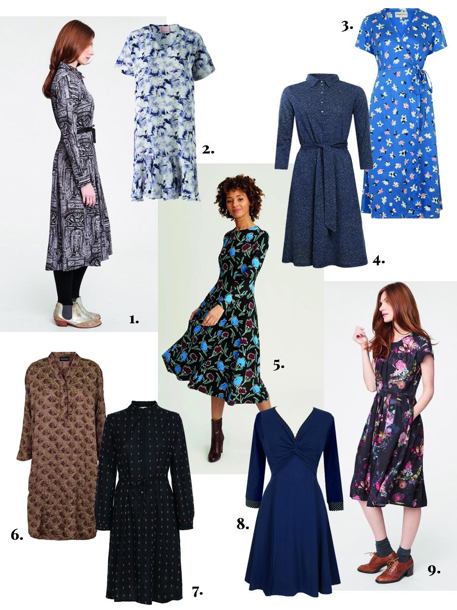 skønne bæredygtige kjoler